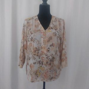 Alfred Dunner Womens Top A324